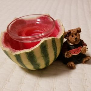 Boyds Bear Malinda McRind Candle Holder